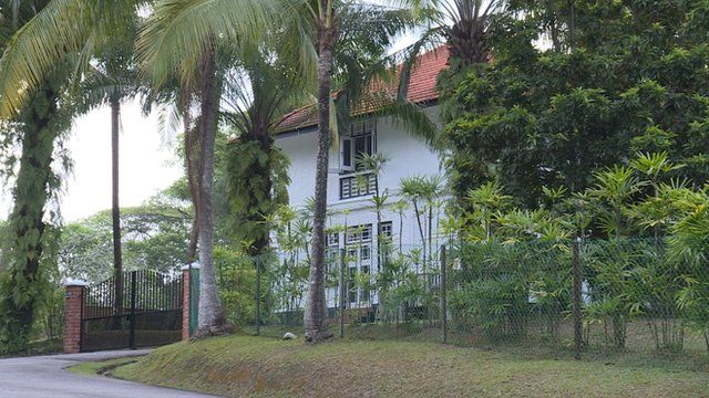 House used by Gordon Highlanders in Singapore