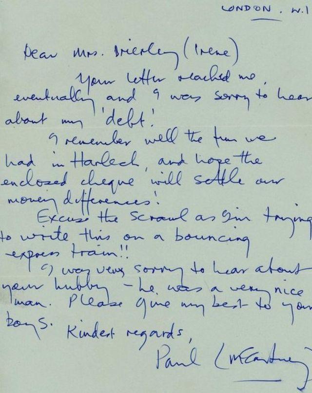 Surat dari Sir Paul McCartney