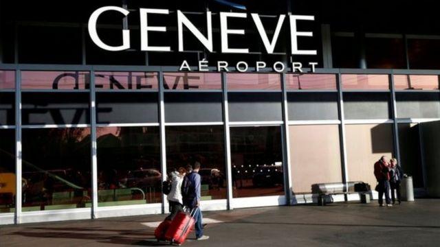 مطار جنيف