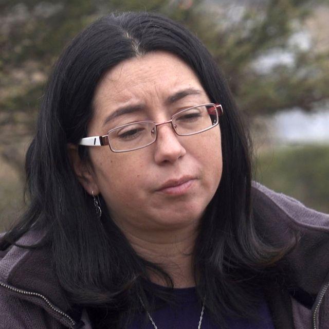 María, la prima de Nicole Saavedra Bahamondes.