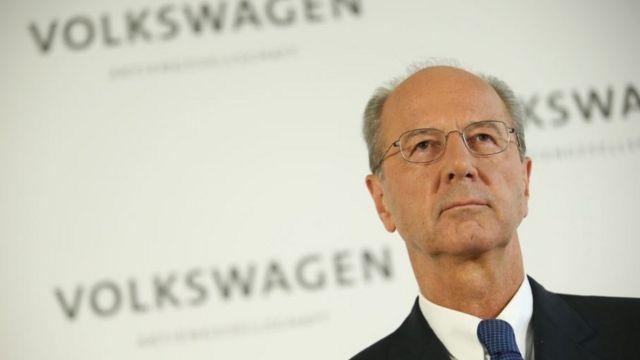 VWの新会長に指名されたハンス・ディーター・ペッチュ氏
