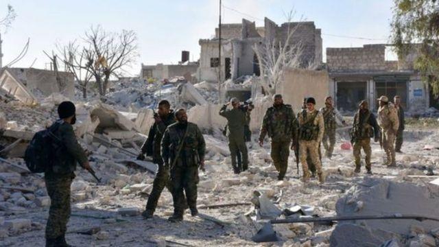 تتقدم القوات الحكومية في مناطق كانت خاضعة للمعارضة المسلحة