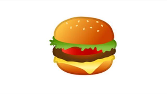 Google burger emoji