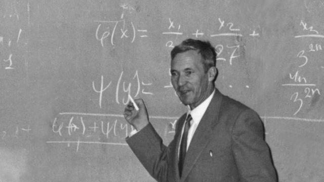 Matemático russo Andrei Kolmogorov