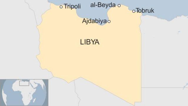 Utugwi tugwi nitwo ducungera ibice vya Libya