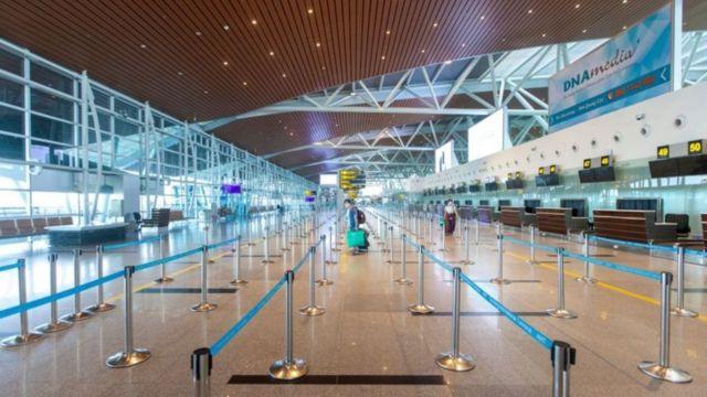 Aeroporto Internacional de Da Nang abandonado