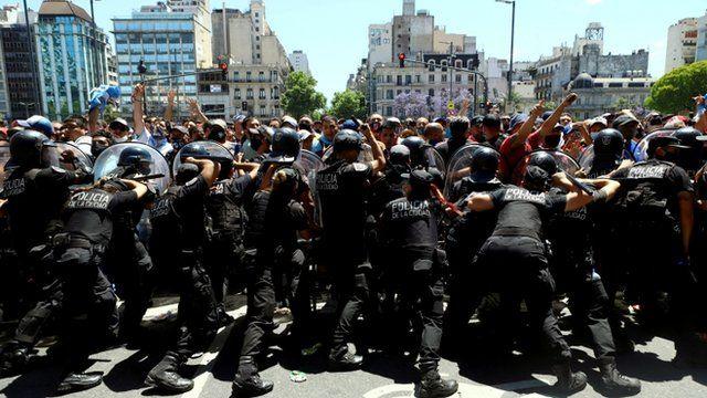 Fueron avistados policías en Buenos Aires