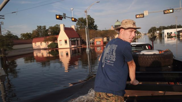 Inundaciones causadas por el huracán Harvey