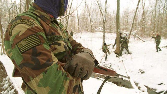 Membro da milícia de Michigan