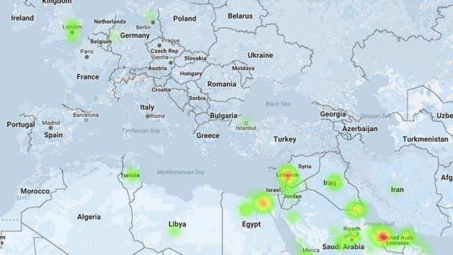 Spredfast: Geo: Tweets