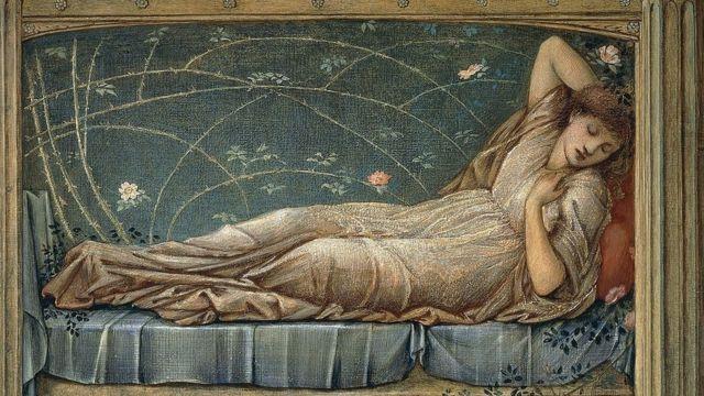 Bela Adormecida, de Edward Burne-Jones.
