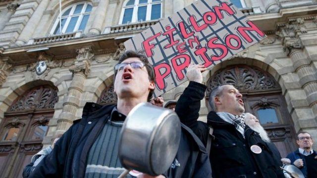 محتجون في فرنسا