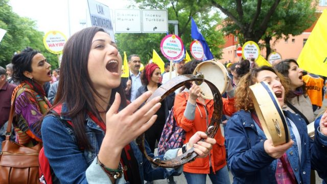 Protesta sindicatos