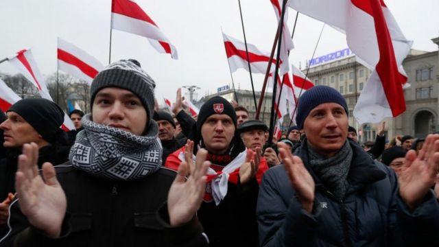 Протест у Мінську 21 грудня
