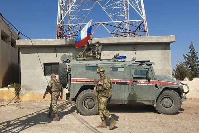 نیروهای ارتش روسیه در نقاط مرزی ترکیه و سوریه