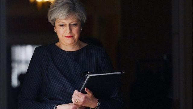 Theresa May, Britain, EU