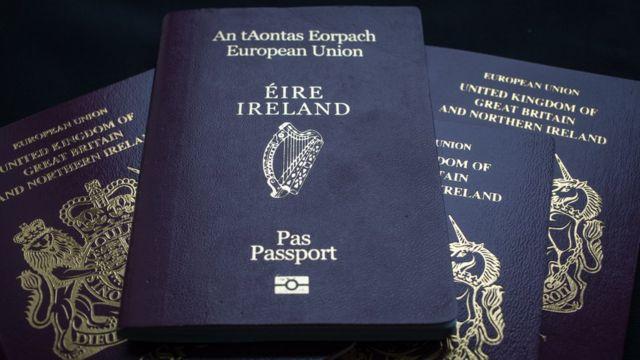 Irish passport applications from British applicants skyrocket