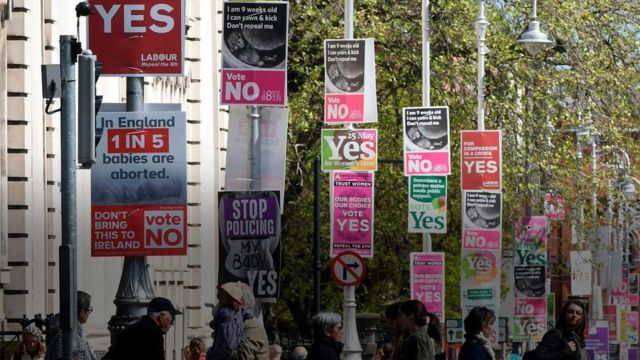 आयरलैंड गर्भपात क़ानून, आयरलैंड में जनमत संग्रह, जनमत संग्रह, गर्भपात क़ानून
