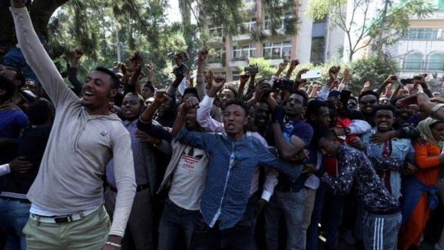Urubyiruko rw'aba Oromo rwumva cyane ibivugwa na Jawar Mohammed bica mu kinyamakuru cye