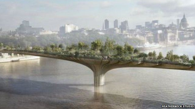 Will Londons Garden Bridge ever be built BBC News