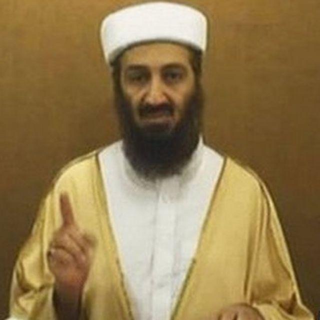 Osama bin Laden, líder da Al-Qaeda