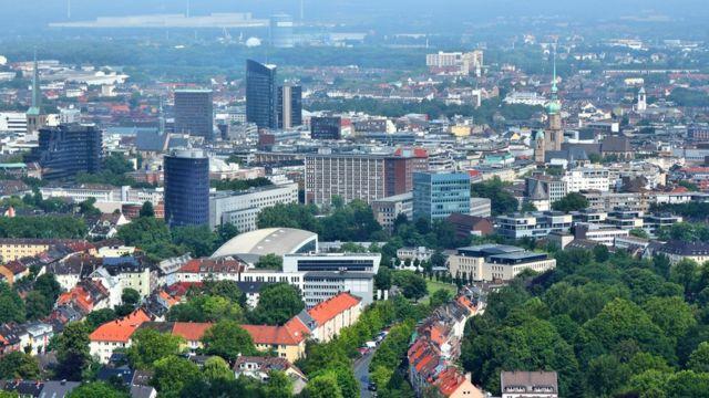 La ciudad de Duelmen se encuentra próxima de Dortmund (foto), en el oeste de Alemania.