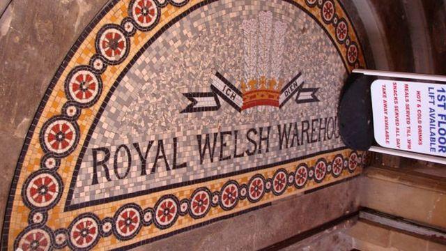 El almacén Royal Welsh Warehouse