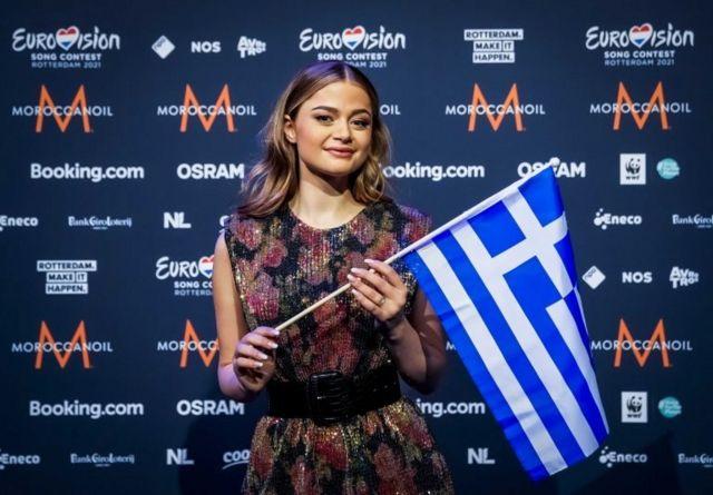 Yunanistan'ı temsil eden 18 yaşındaki Stefania Liberakakis