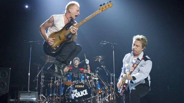 The Police en concierto en Canadá, 2007