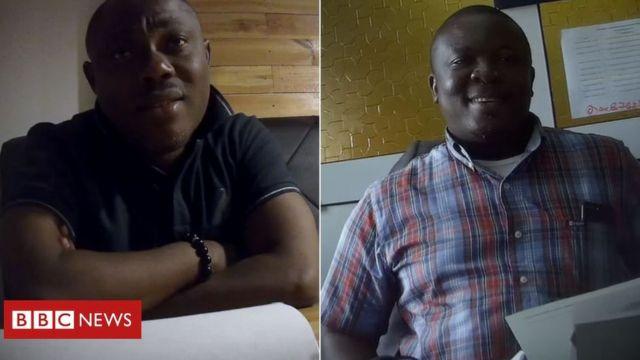 Prof. Ransford Gyampo and Dr. Paul Butakor