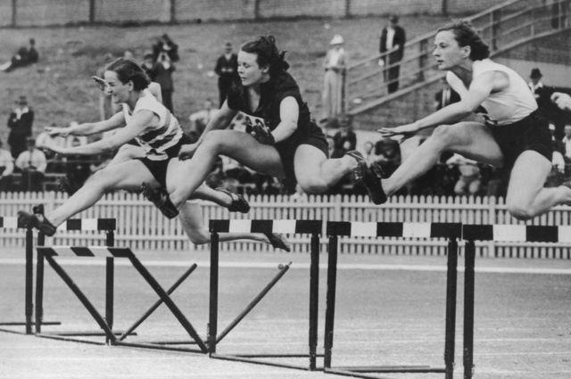 1938లో బ్రిటిష్ ఎంపైర్ గేమ్స్లో పాల్గొన్న క్రీడాకారులు