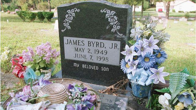 James Byrd Jr's gravestone