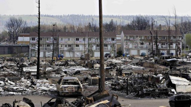 Canada wildfires: Alberta releases app for worried residents