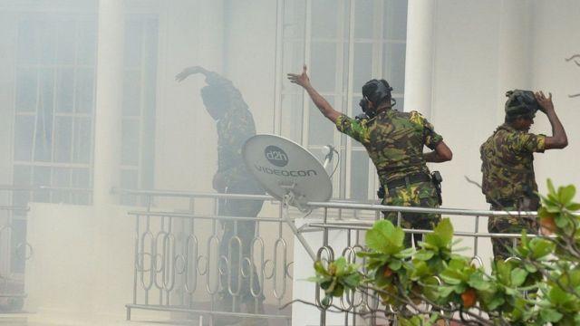 Операция по задержанию подозреваемых в причастности к взрывам