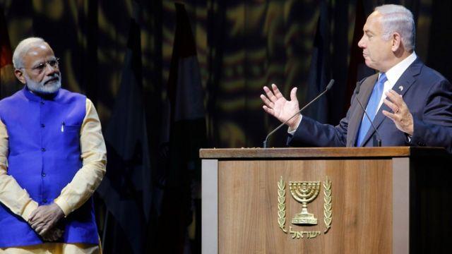 नरेंद्र मोदी इसराइल