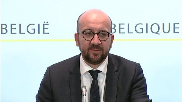 Belgian PM Charles Michel