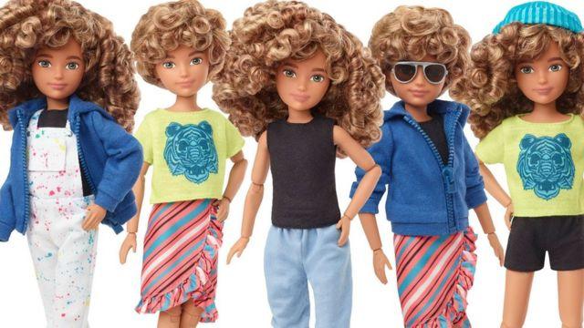 разные образы новой куклы