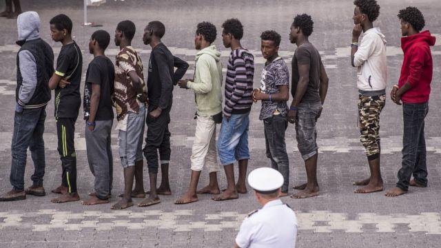 در سالهای اخیر ایتالیا مقصد اصلی پناهجویانی بوده است که خودشان را از راه مدیترانه به اروپا میرسانند.