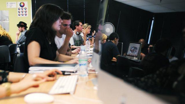 Un salón de clases de Laureate
