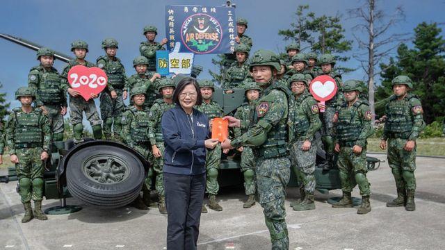 位于台湾西北部新竹高山的乐山雷达基地主要是面对台湾西部,面对台湾海峡。