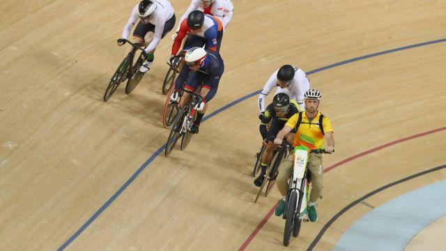 La competencia de keirin en Río