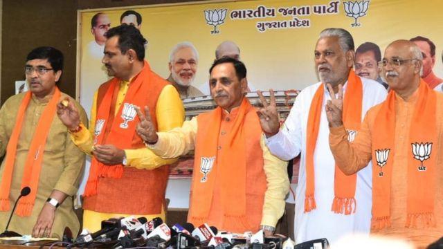 ગુજરાત ભાજપના નેતા