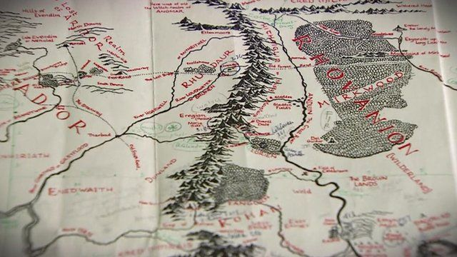 Did Maps In Middle Earth Have West: Lord Of The Rings 'Middle-earth' Revealed