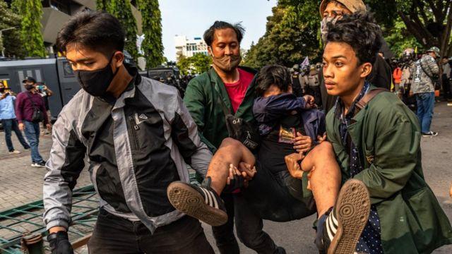 Unjuk rasa Semarang