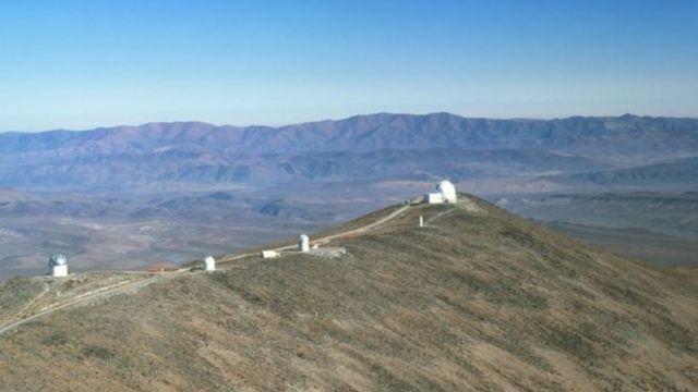 Telescópio de 1,3 metros usado pelos astrônomos poloneses