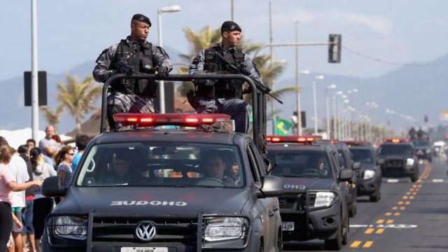 Полиция в Рио