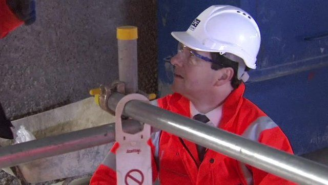 George Osborne working on Crossrail
