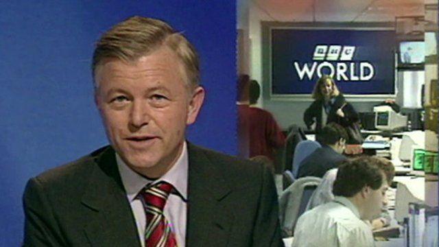 BBC World News studio