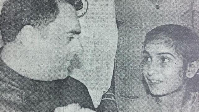 पूर्व प्रधानमंत्री राजीव गांधी और नैना साहनी