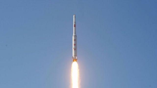 """Пхеньян использовал космодром """"Сохэ"""" для запуска ракет дальнего радиуса действия. Снимок сделан 7 февраля 2016 года"""
